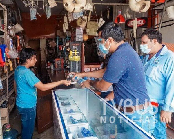 Rebeldes a medidas anticovid, el 10% de comercios supervisados en Tuxtepec