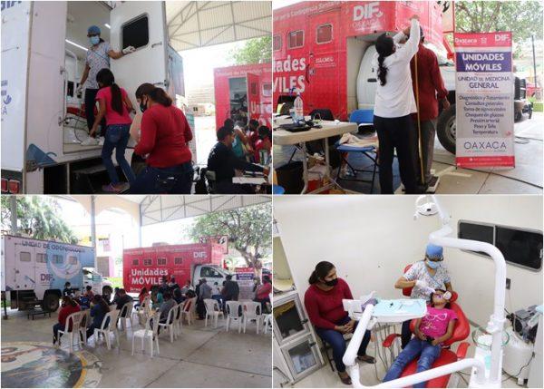 DIF Estatal Oaxaca lleva servicios médicos gratuitos a la Sierra Sur