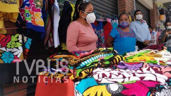 Retoman el Escaparate Artesanal en Tuxtepec
