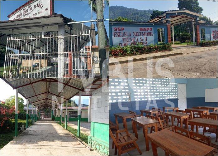 Más de 7 mil alumnos en Valle Nacional mantienen clases a distancia