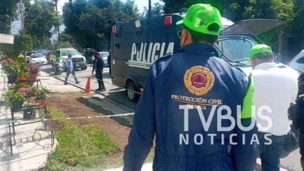 Granada encontrada en la colonia Reforma de Oaxaca causa pánico; no se registraron daños