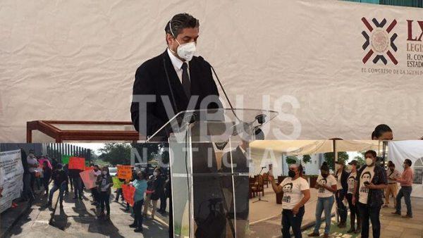 Con petición de renuncia, finaliza comparecencia de Secretario de Salud en el Congreso de Oaxaca