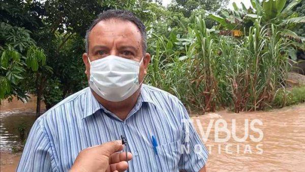 Buscará Marcelo Santos atender situación del muro en Valle Nacional y Tres Marías para proteger la vida de los Vallenses