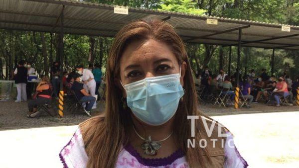 30 de octubre concluiría aplicación de vacuna contra covid en Oaxaca: Nancy Ortiz