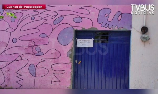 """""""¡No recibo visitas!"""", el repelente al Covid que aplicaron familias en Tuxtepec por medio de letreros"""