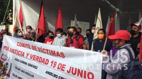 Organizaciones de Oaxaca inician huelga de hambre, exigen justicia por diversos delitos