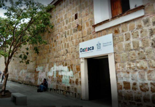 Suspenderá Registro Civil de Oaxaca actividades los días 2 y 3 de agosto