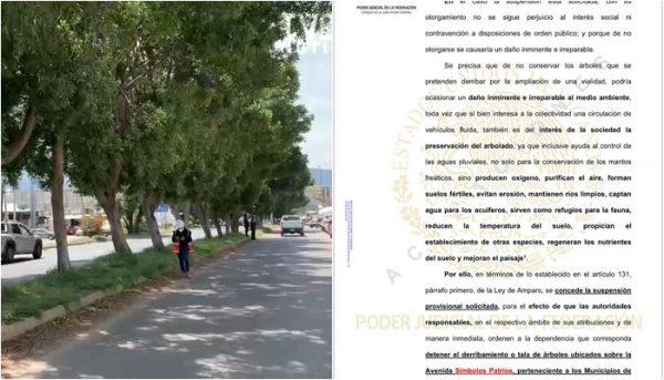 Revés a SINFRA, Juez de Distrito concede suspensión provisional de obra en Símbolos Patrios