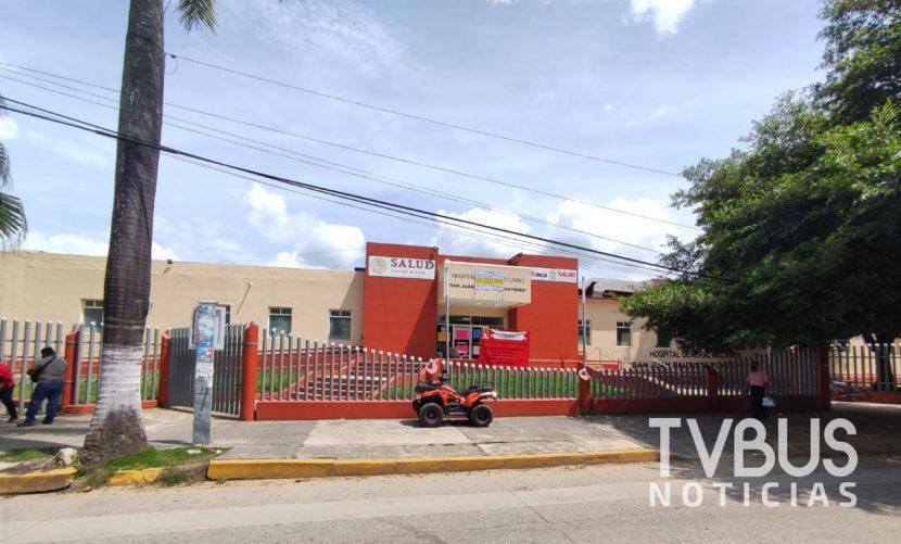 Área covid y urgencias de Hospital General de Tuxtepec, las más afectadas por despido de personal de salud
