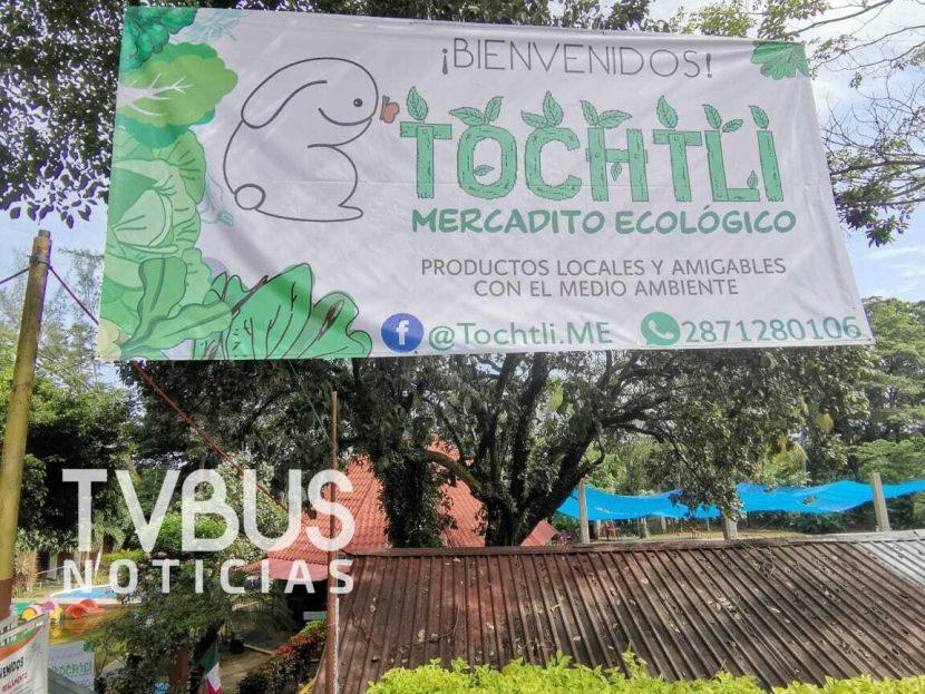 Alrededor de 13 productores, participaron en el Mercadito Tochtli en Tuxtepec