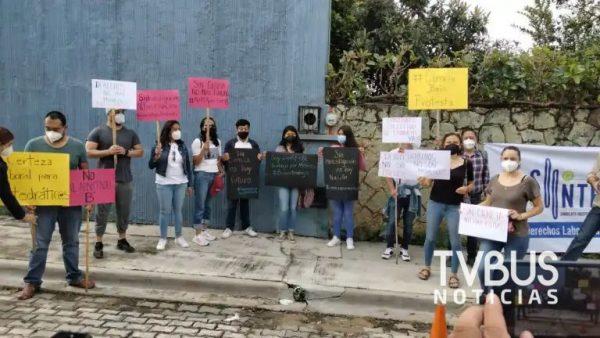 Científicos de Oaxaca exigen renovación de contrato colectivo de trabajo