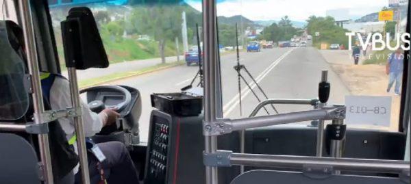 Con baches y encharcamientos en ruta, CityBus inicia servicio en Oaxaca