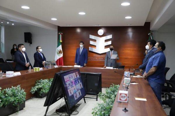 IEEPCO da inicio formal a proceso para renovar gubernatura de Oaxaca