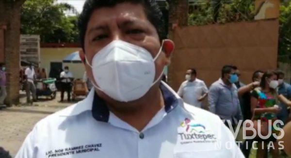 Pese a visible problemática, el edil de Tuxtepec dijo que ignoraba las pésimas condiciones de camiones de basura