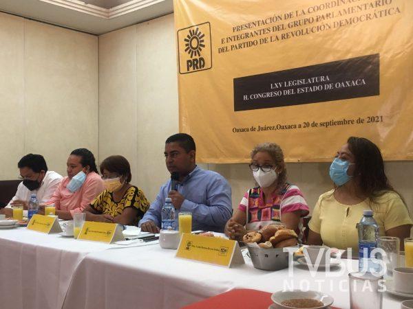 Víctor Raúl Hernández López será coordinador del PRD en LXV legislatura de Oaxaca