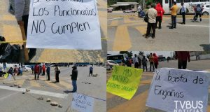 Habitantes de Zaachila bloquean para exigir construcción de pozo profundo