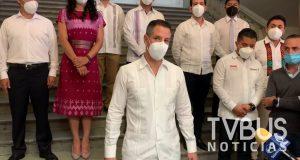 Anuncia Murat investigación para dar con responsables de contratación de personal de salud sin techo presupuestal