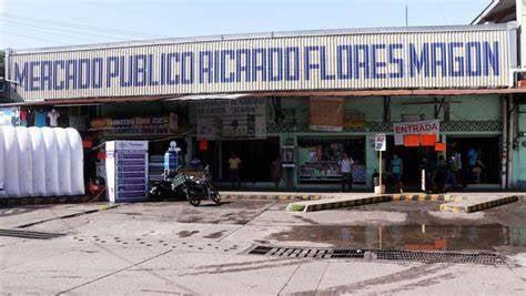 Por covid, caen ventas en mercado Flores Magón en Tuxtepec
