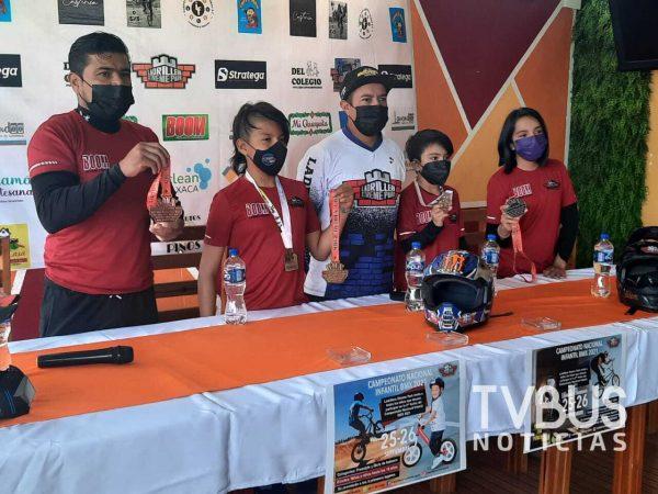 Presentan segunda fecha del Campeonato Nacional de BMX infantil