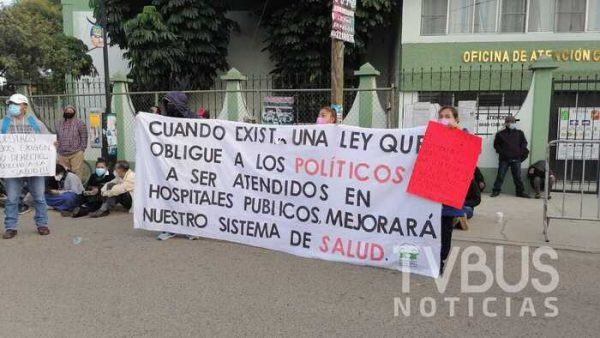 """""""Guerrero Tuxtepecano"""" se queda sin quimioterapias, por recorte de personal de salud"""