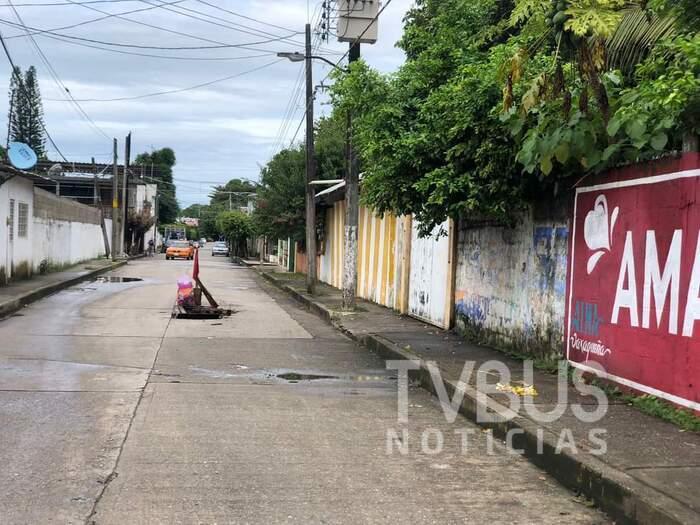 En Tuxtepec, las lluvias dejan 6 hundimientos en Septiembre