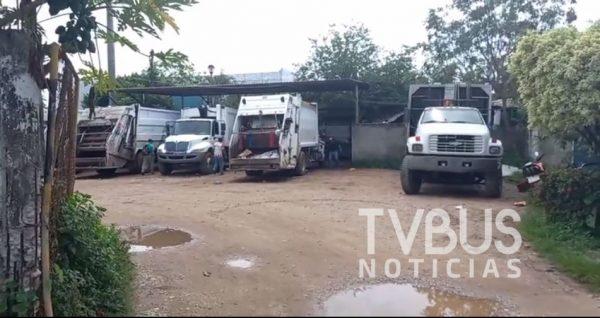 Ruptura laboral entre sindicato y ayuntamiento, afecta al servicio básico en Tuxtepec