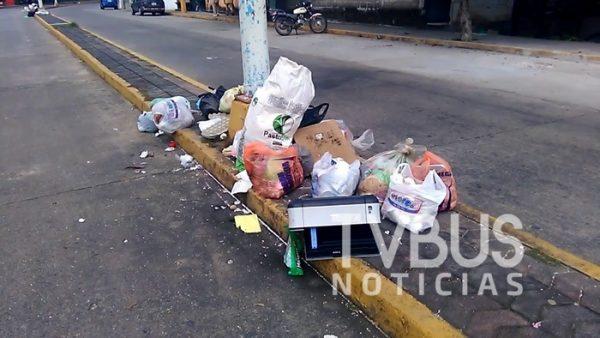 Falla de nuevo el servicio de recolección de basura en Tuxtepec