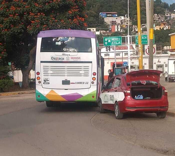 CityBus registra su primer choque en segundo día de operación