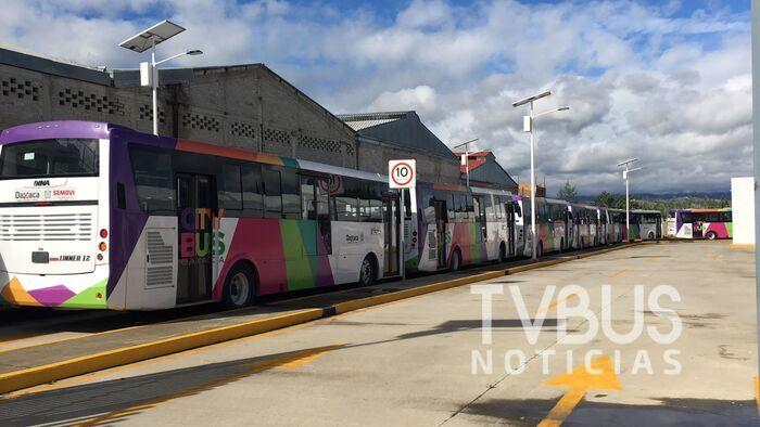 Multa de 20 mil pesos a quien no respete carril del CityBus en Oaxaca advierte Policía Vial