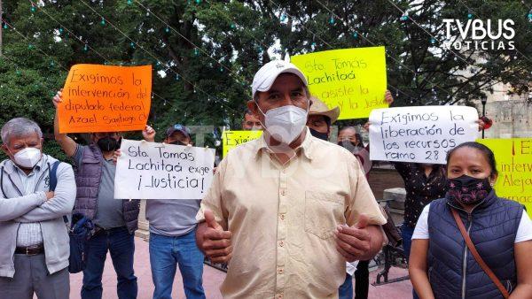 Habitantes de Santo Tomás Lachitá denuncian desatención de la SEGEGO; seguirán movilizándose