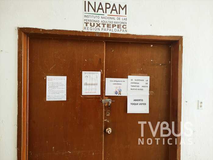 Reanuda registros y entrega de credenciales INAPAM Tuxtepec