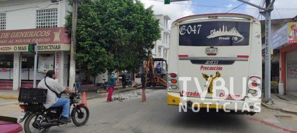 Cierre de calles en Tuxtepec, incrementa crisis y se suma al covid para golpear economía: Unión de Chóferes