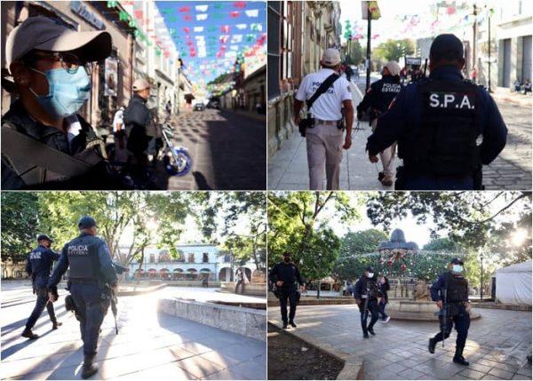 """Despliega SSPO operativo """"fiestas patrias"""" en Oaxaca"""