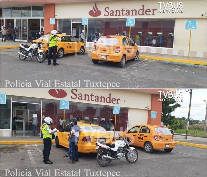 Al alza multas por no respetar los cajones de estacionamiento para discapacitados en Tuxtepec