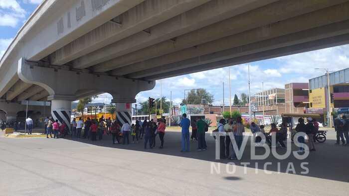 STEUABJO bloquea crucero de 5 señores, en quinto día de protestas