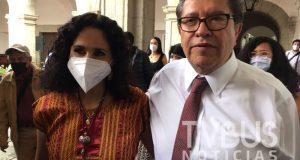 Sí me voy a anotar para ser candidata de MORENA al gobierno de Oaxaca: Susana Harp