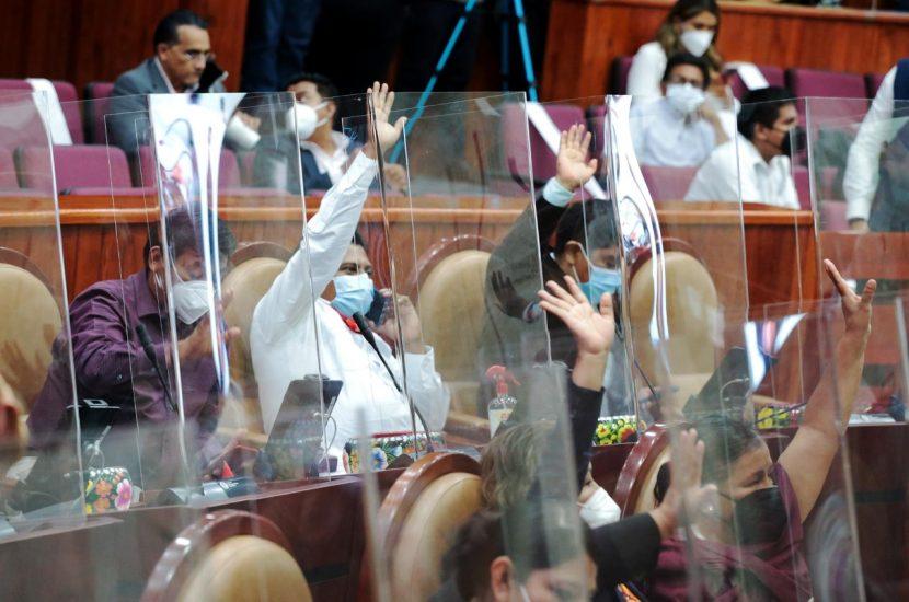 Avala Parlamento oaxaqueño rechazos y ratificación de funcionarios del Tribunal de Justicia