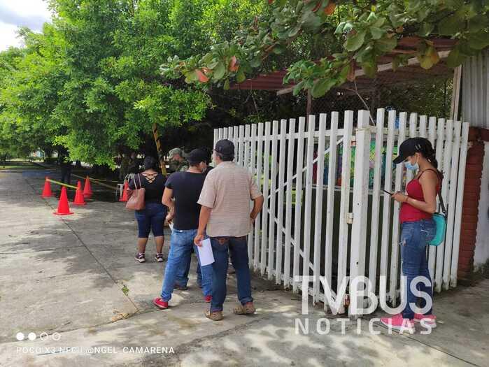 Con poca asistencia, primer día de segunda jornada universal de vacunación covid en Tuxtepec