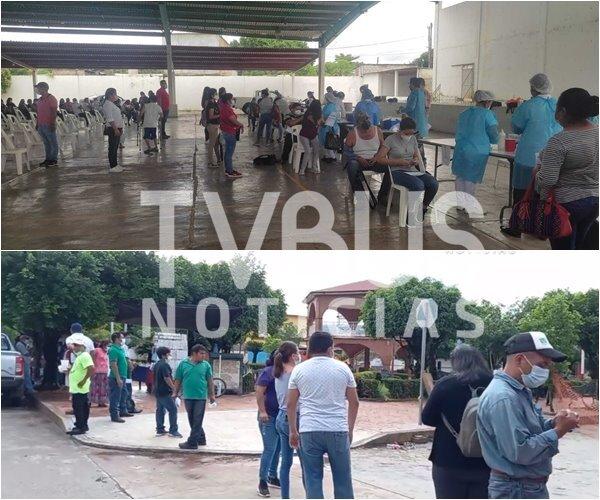 Con afluencia y sin contratiempos, se aplica segunda dosis Astra Zeneca contra covid, en la Cuenca