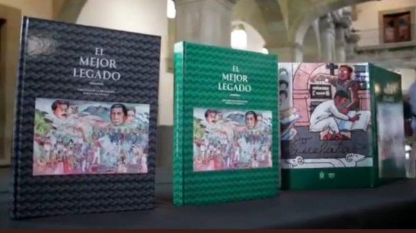 """Presenta IEEPO libro """"El mejor legado, cien años de la Educación Pública en Oaxaca"""""""