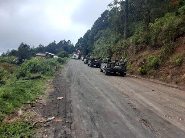 Gobierno Estatal y Federal coordinarán ingreso de las fuerzas del orden y de la FGEO en San Esteban Atatlahuca