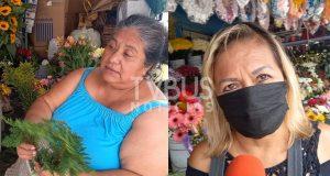 "Apertura de cementerios ""reviven"" la venta de flores en Tuxtepec"