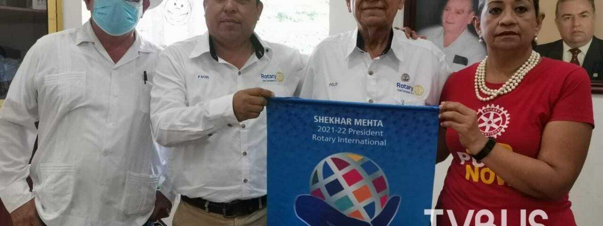 Clubes Rotarios de Tuxtepec, anuncian actividades para combatir la poliomielitis