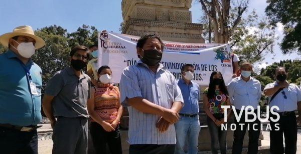 Nada que celebrar el 12 de octubre: Consejo Estatal de Pueblos Indígenas de Oaxaca