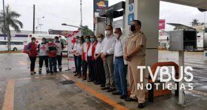 Arranca Cruz Roja en Tuxtepec, campaña