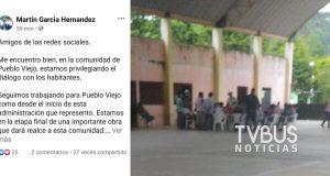 Desmiente edil de Chiltepec retención en Pueblo Viejo