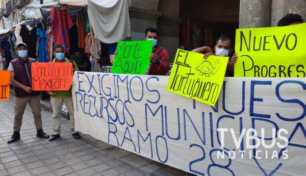 Habitantes de San Juan Mazatlán Mixes amagan con bloqueos carreteros