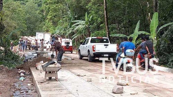 Motivación entre los pueblos originarios, por avance de carretera que conectará a Valle con Usila