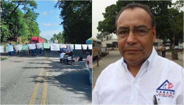 Exige CANACO Tuxtepec a gobierno estatal, atender problemáticas para evitar bloqueos
