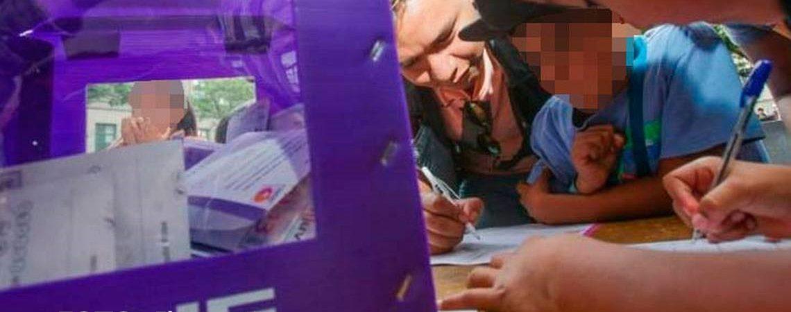 Llaman a participar en Consulta infantil y Juvenil en  el Distrito 01; será virtual